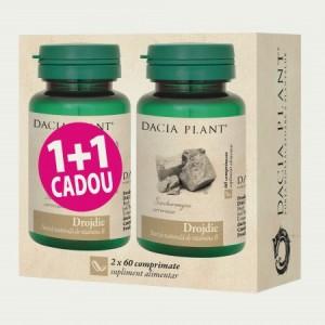 Promo Drojdie (60 comprimate) 1+1 Gratuit, Dacia Plant
