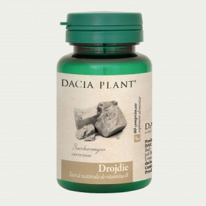 Drojdie (60 comprimate), Dacia Plant