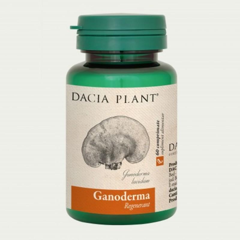 Ganoderma (60 comprimate), Dacia Plant