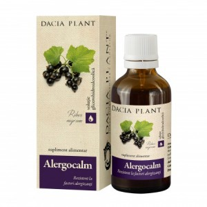Alergocalm tinctura (50 ml), Dacia Plant