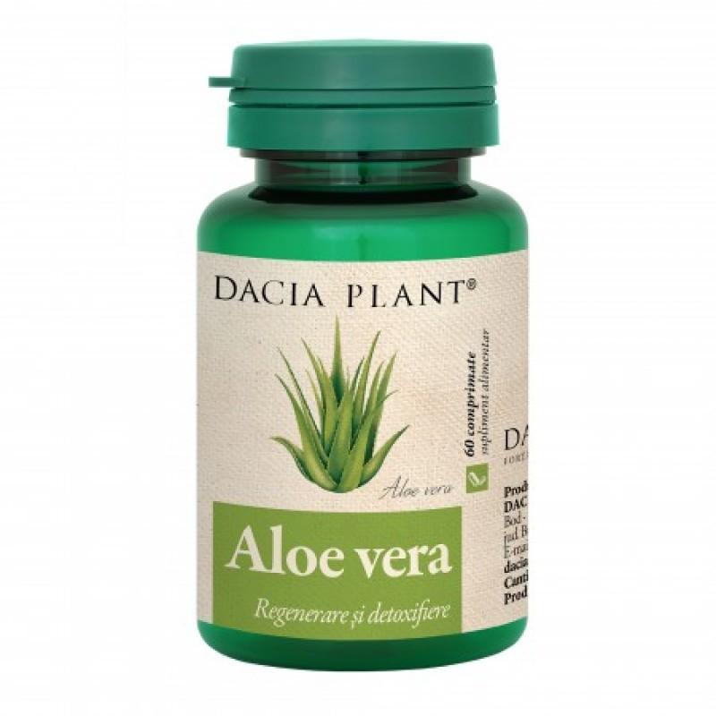 Aloe Vera (60 comprimate), Dacia Plant