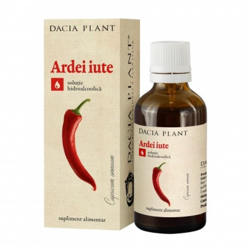 Ardei Iute tinctura (50 ml), Dacia Plant