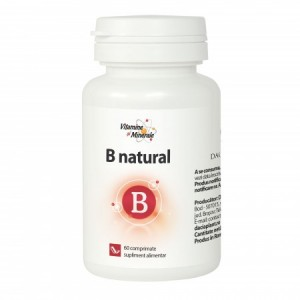B Natural (60 comprimate), Dacia Plant