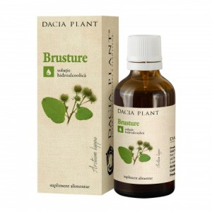 Brusture tinctura (50 ml), Dacia Plant