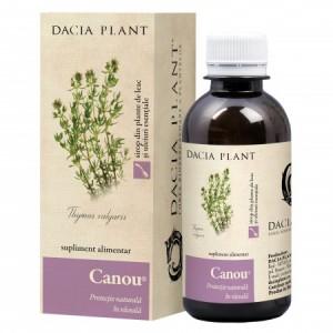 Canou sirop (200 ml), Dacia Plant