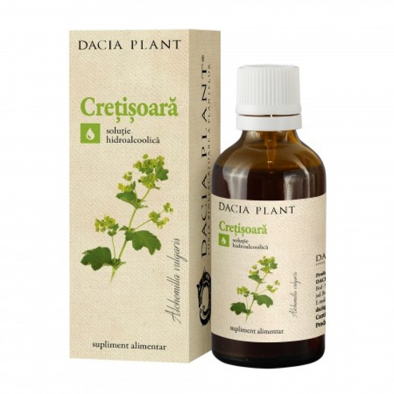 Cretisoara tinctura (50 ml), Dacia Plant
