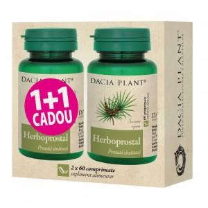 Promo Herboprostal (60 comprimate) 1+1 Gratuit, Dacia Plant