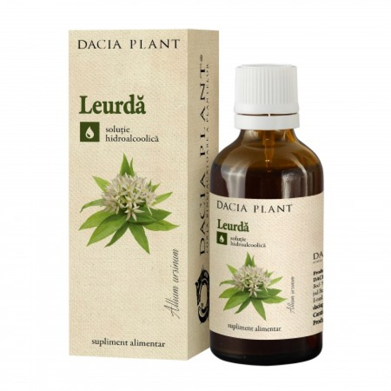 Leurda tinctura (50 ml), Dacia Plant