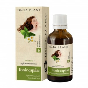 Tonic Capilar tinctura (50 ml), Dacia Plant