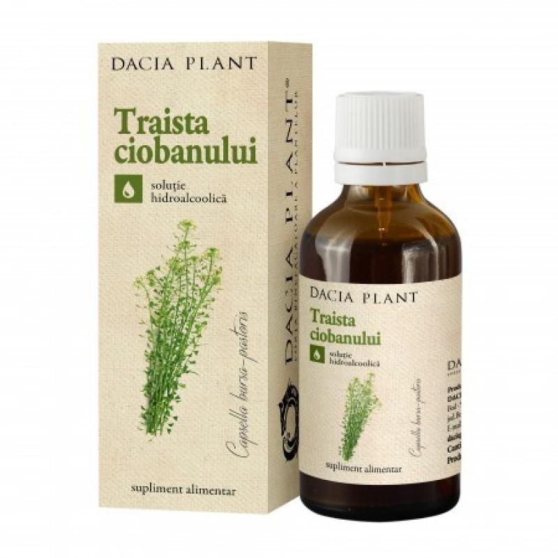 Traista Ciobanului tinctura (50 ml), Dacia Plant
