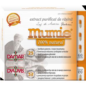 Extract purificat de rasina Mumie (60 capsule)