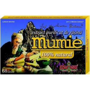 Extract purificat de rasina Mumie (60 tablete)