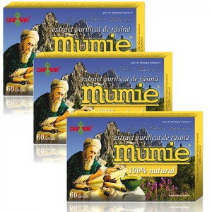 Pachet 3 x Extract purificat de mumie ( 60 tablete), Damar
