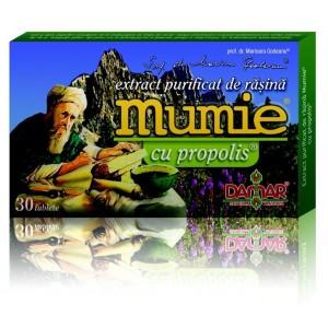 Mumie cu propolis (30 tablete), Damar