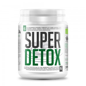 Bio Super Detox Mix pulbere bio (300g), Diet Food