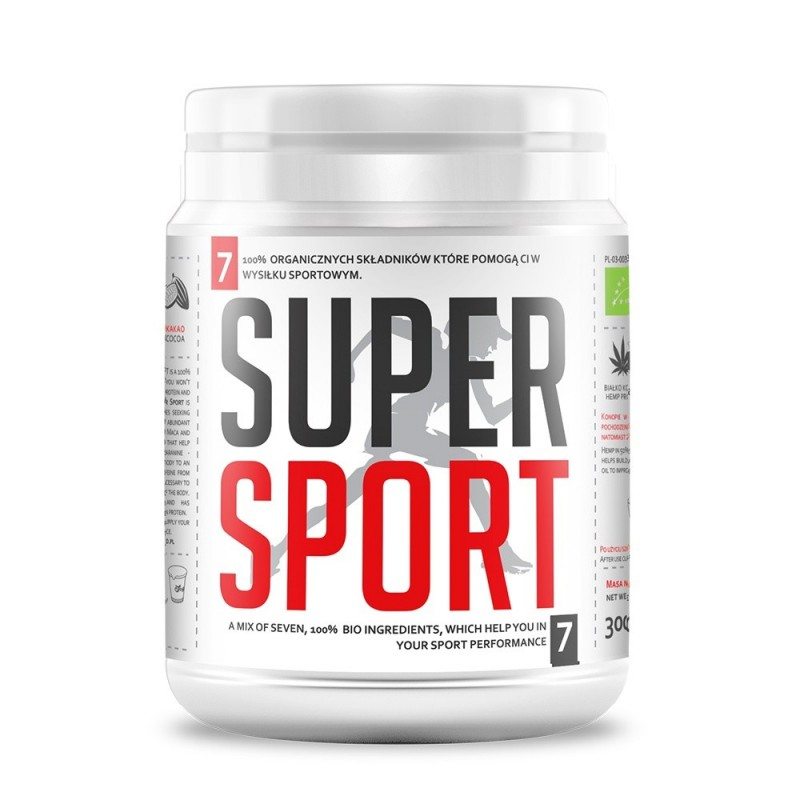 Bio Super Sport Mix pulbere bio (300g), Diet Food