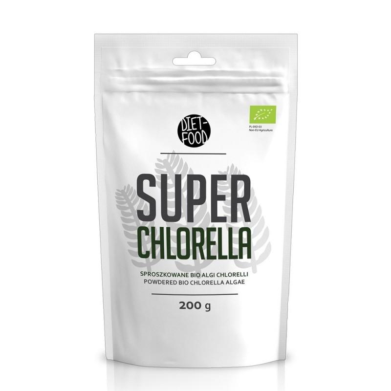 Chlorella - pulbere bio (200g), Diet Food