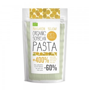 Fettuccine bio din soia galbena (200g), Diet Food