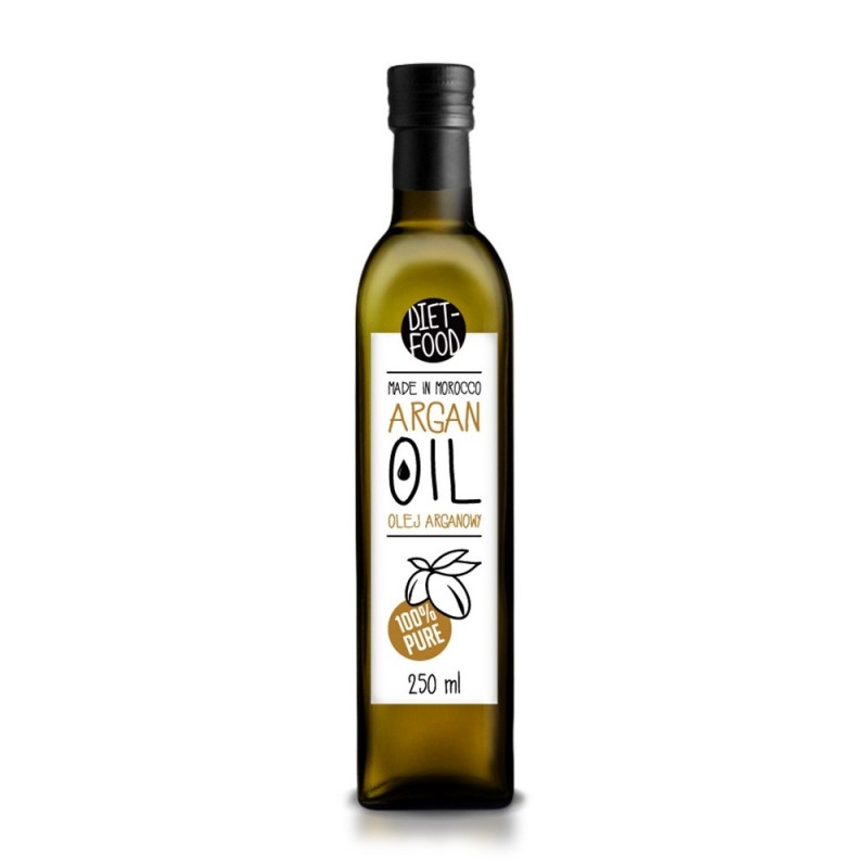 Ulei de argan bio alimentar (250ml), Diet Food