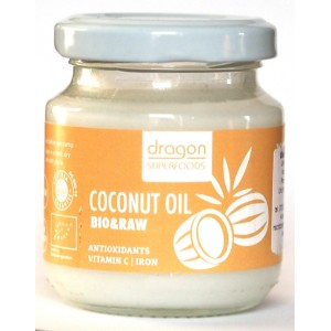 Ulei de cocos virgin bio presat la rece (100ml), Dragon Superfoods