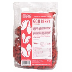 Goji berries raw bio (100g) Dragon Superfoods