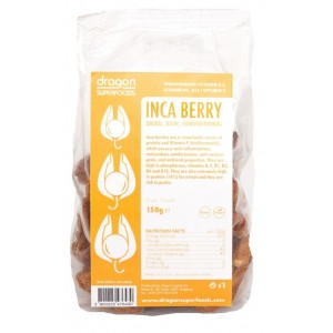 Fructe incan (golden) berry raw bio (150g), Dragon Superfoods