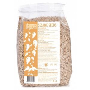 Seminte de susan integral raw bio (250g), Dragon Superfoods