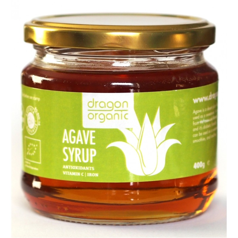 Sirop de agave bio (400g), Dragon Superfoods