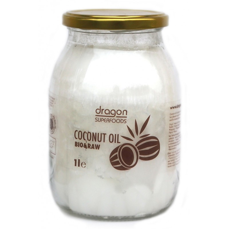 Ulei de cocos virgin bio (1 litru), Dragon Superfoods