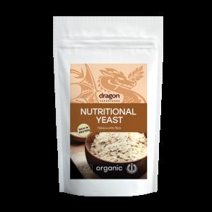 Fulgi de drojdie inactiva bio (100 grame), Dragon Superfoods