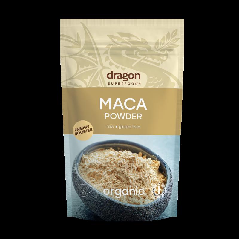 Maca pulbere organica bio (200g), Dragon Superfoods
