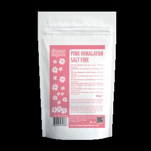 Sare roz de Himalaya fina (500g), Dragon Superfoods