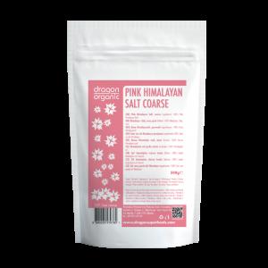 Sare roz de Himalaya grunjoasa (500g), Dragon Superfoods