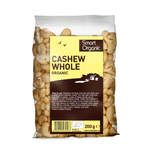 Caju raw bio (200g), Smart Organic