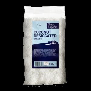 Miez de nuca de cocos macinat bio (200g), Smart Organic