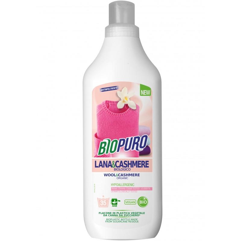 Detergent hipoalergen pentru lana, matase si casmir bio 1 L, Biopuro