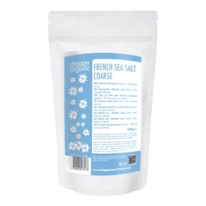 Sare celtica grunjoasa (500g), Dragon Superfoods