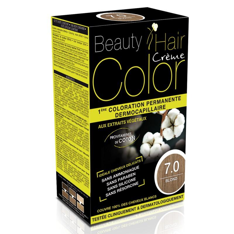 Beauty Hair - Vopsea de par 7 Blond, Eric Favre