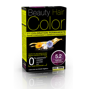 Beauty Hair - Vopsea de par 5.2 Saten Violet Deschis, Eric Favre