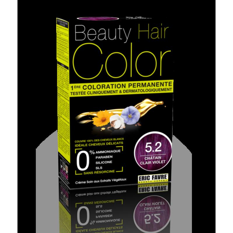 Beauty Hair - Vopsea de par 5.2 Saten Violet Deschis, Eric Favre