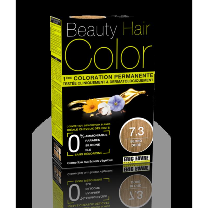 Beauty Hair - Vopsea de par 7.3 Blond Auriu, Eric Favre