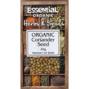 Coriandru intreg bio (40g), Essential