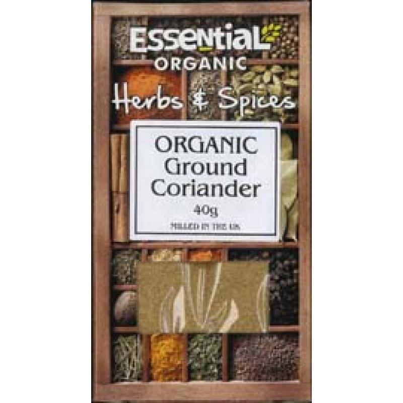 Coriandru macinat bio (40g), Essential