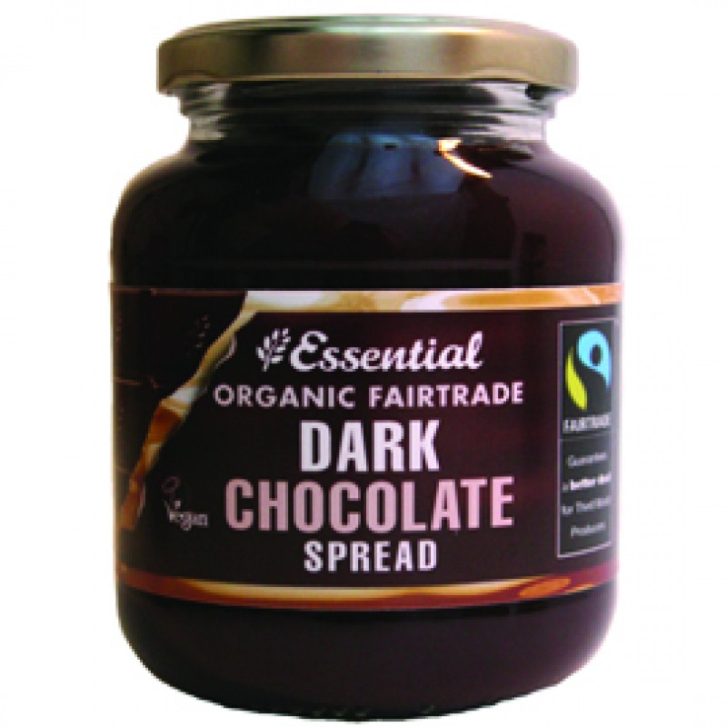 Crema tartinabila cu ciocolata bio fairtrade (400g), Essential