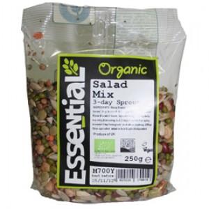 Seminte mix pentru germinat in 3 zile bio (250g), Essential