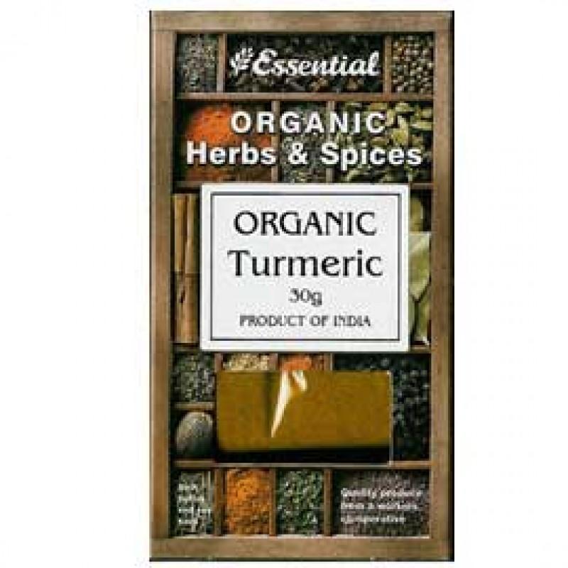 Turmeric bio (30g), Essential