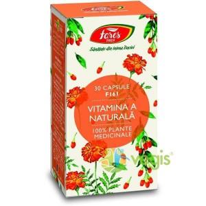Vitamina A naturala (30 capsule), Fares