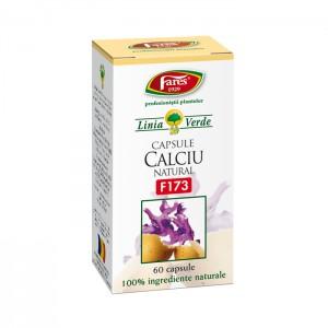 Calciu natural F173 (60 capsule),Fares