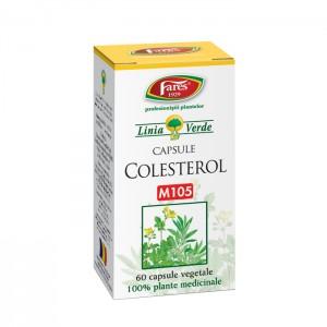 Colesterol M105 (60 capsule), Fares