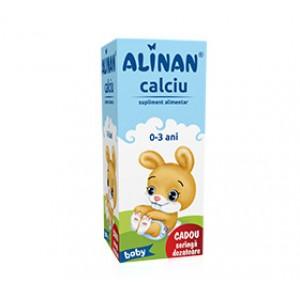 Alinan Calciu Baby - sirop (150ml), Fiterman